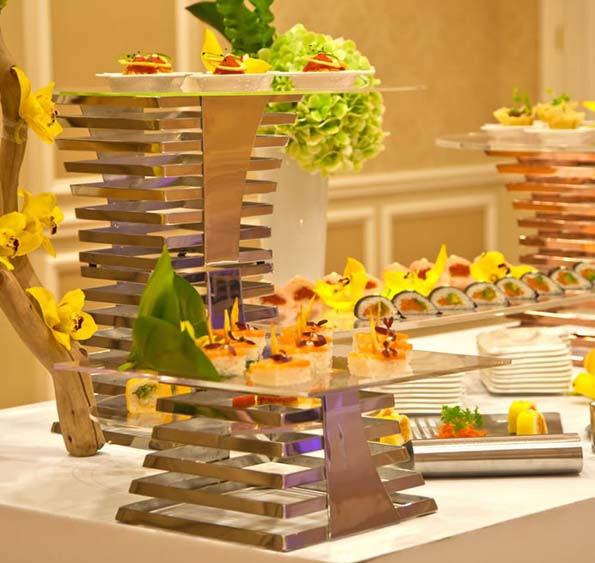 Eastern Tabletop Escalate Buffet Risers