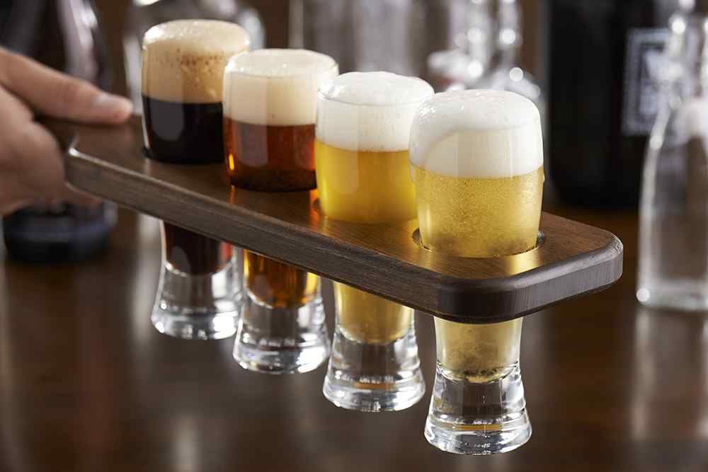 Steelite Beer Flight