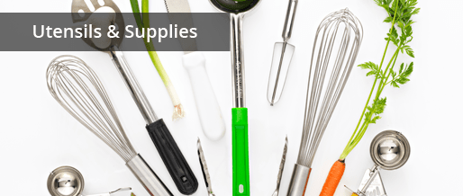 Commercial Quality Kitchen Utensils & Supplies