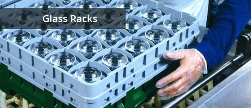 Commerical Use Glass Racks