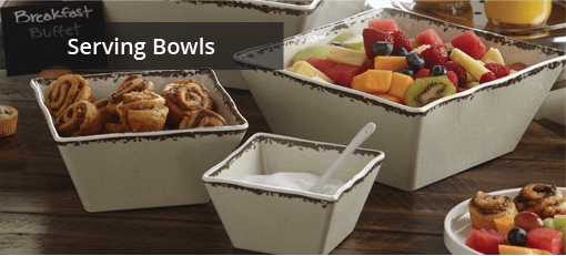 Commercial Quality Serving Bowls