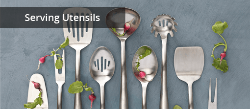Commercial Quality Serving Utensils