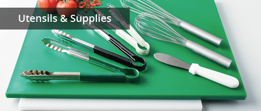 Commercial Grade Kitchen Utensils & Supplies