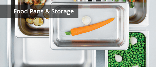 Food Pans & Storage for Healthcare