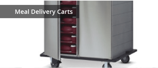 Meal Delivery Carts for Healthcare