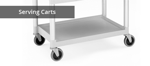 Serving Carts for Healthcare