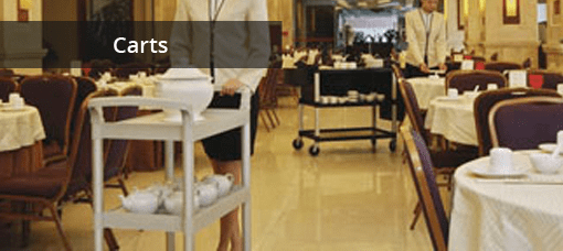 Hotel Meal Delivery Carts