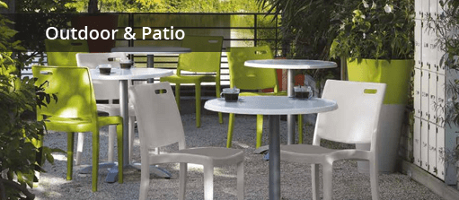 Outdoor Dining Chairs by Grosfillex