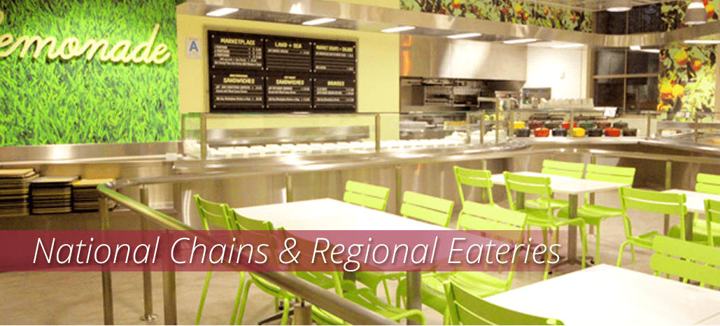 Shop Foodservice Supplies for National Chains & Regional Eateries