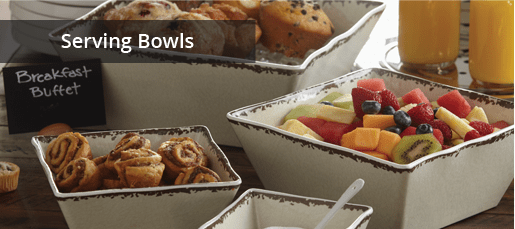 Restaurant Quality Serving Bowls