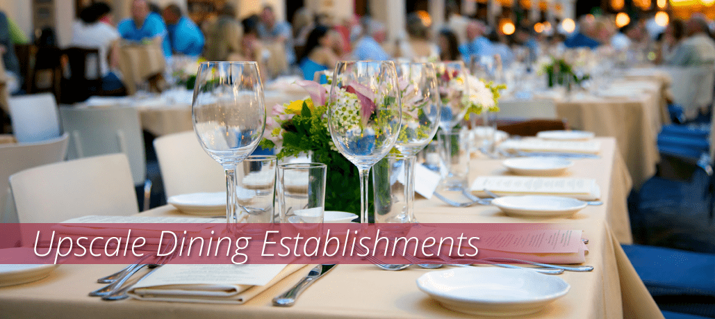 Shop Foodservice Supplies for Fine Dining