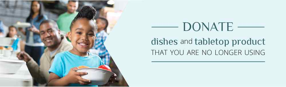 Donate Dishes and Tabletop Items