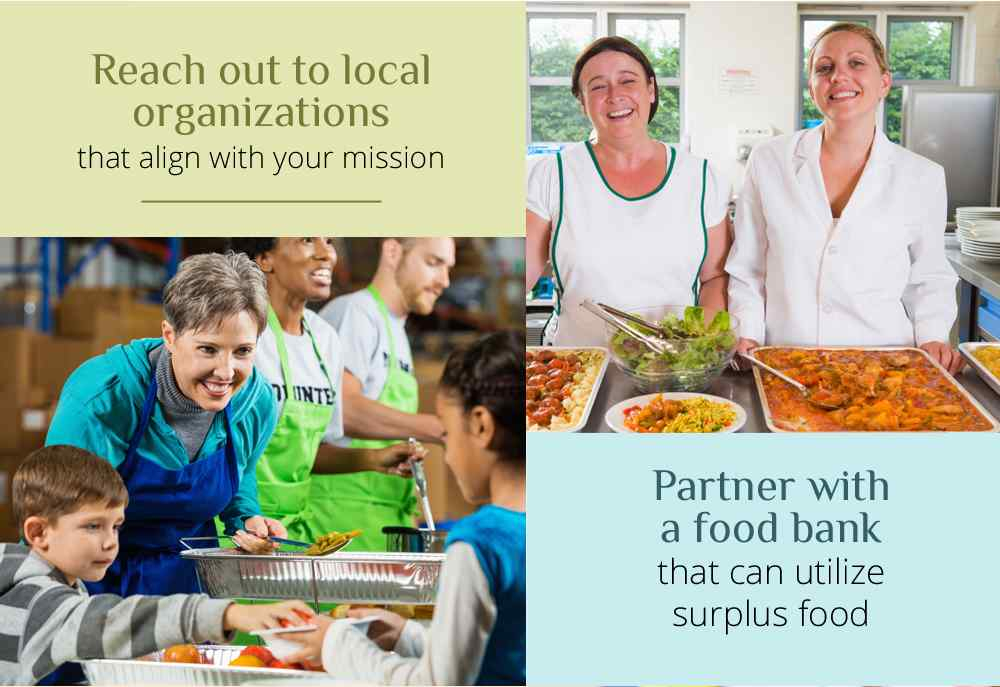 Partner With a Food Bank