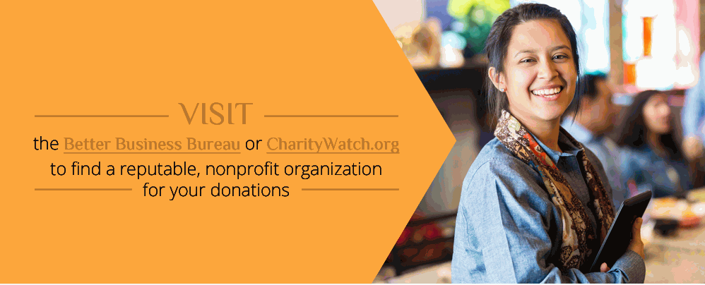 Choose Trust-worthy non-profit