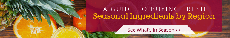 Seasonal Ingredients by Region