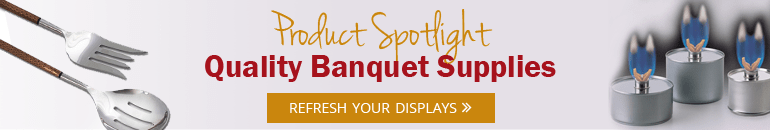 Featured Prod of Month - Banquet Supplies