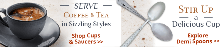 Coffee and Tea Service Supplies