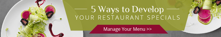 Tips to Develop Your Menu Specials