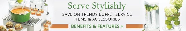 New Trend Sale - Buffet Service Items and Accessories
