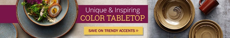 New Trend Sale - Color Tabletop