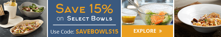 Save on Glass, Melamine and China Bowls