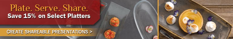 Seasonal Offer - 15% Off Select Platters