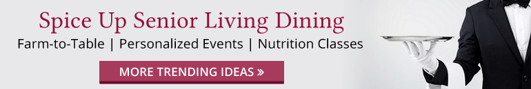 Senior Living Foodservice Programs