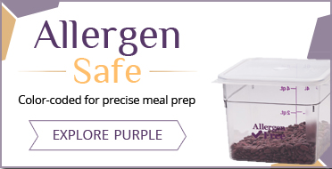 Allergen Safe Foodservice Supplies