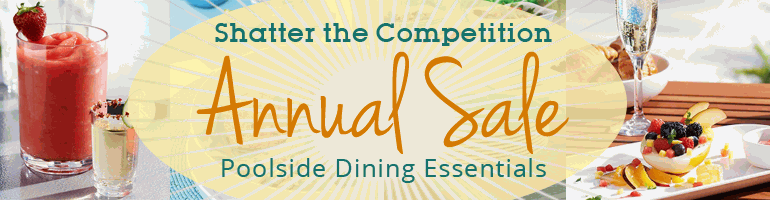 Annual Sale Event - Poolside Dining