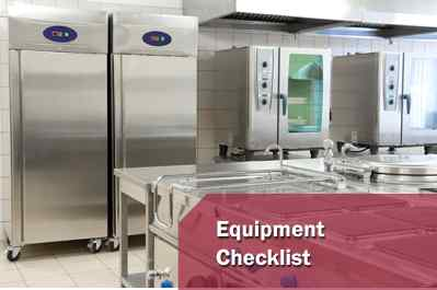 Restaurant Equipment Checklist