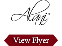 Alani Porcelain Dinnerware Flyer