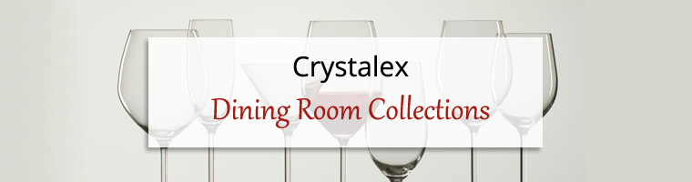 Dining Room Collections: Crystalex Siesta Glassware