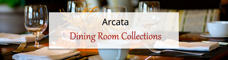 Dining Room Collections: Arcata 3D Glass
