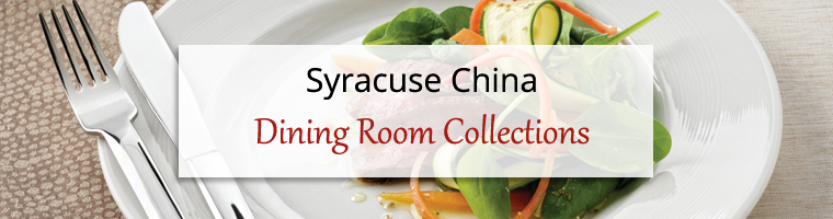 Dining Room Collections: Syracuse China Elan