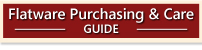 Flatware Purchasing & Care Guide