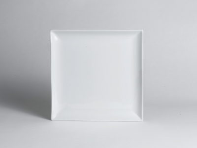 Steelite Square Plate Cafe Porcelain 10\  Steelite RWS-55684 & Steelite Square Plate Cafe Porcelain 10 inches - RWS-55684 | R.W. ...