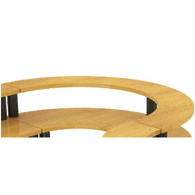 Brilliant Bon Chef Half Round Table 84 Inches X 42 Inches X 46 Andrewgaddart Wooden Chair Designs For Living Room Andrewgaddartcom