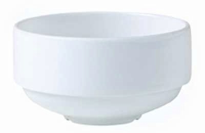 Steelite Soup Cup Monaco Vogue White Unhandled 10 Oz 021993 R W Smith Co Your Source For Restaurant Dining Room Products Commercial Kitchen Supplies And Foodservice Equipment