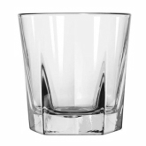 Libbey, Double Old Fashioned Glass, Inverness, DuraTuff, 12 1/4 oz