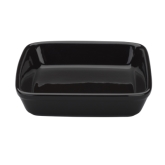 "Vista Alegre, Square Roaster, 18.60 oz, 6 1/4"" x 6 1/4"" x 1 1/4"",  Black, Cuisine"