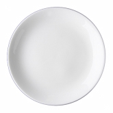 Tria Coupe Plate Bone China, 9""
