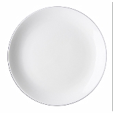 "Tria, Coupe Plate, 10"" dia., Pure, Bone China"