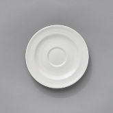 "Venu, Saucer for Coffee Cup and Stacking Cup, 6"" dia., Signature"
