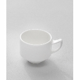 "Venu, Stacking Coffee Cup, 8.50 oz, 4 3/8"" dia. x 2 7/8""H, Signature"
