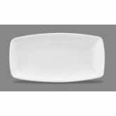 "Churchill China, Plate, X Squared, Super Vit, White, Oblong, 11 3/4"" x 6"""