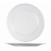 Churchill China, Plate, Profile, Super Vit, White, 10 5/8""