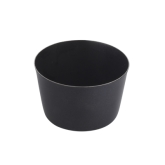 "Arcata, Conical Bowl, 8 oz, 3"" x 2"", S/S, Matte Black"
