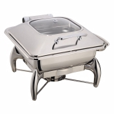 Arcata, Induction Chafer, Square, 6 qt, w/o Stand, S/S