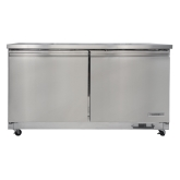 "Kintera, Undercounter Refrigerator, Two-Section, 61 1/4""W, 15.50 cu ft"