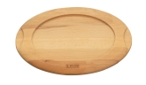 "Arcata, Wood Underliner for 9 1/2"" x 7 1/8"" Oval Dish"